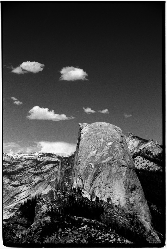 Half dome vertical canon ae 1 with
