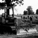 Bulldozer, Jill Street Graveyard by Bill Wolff