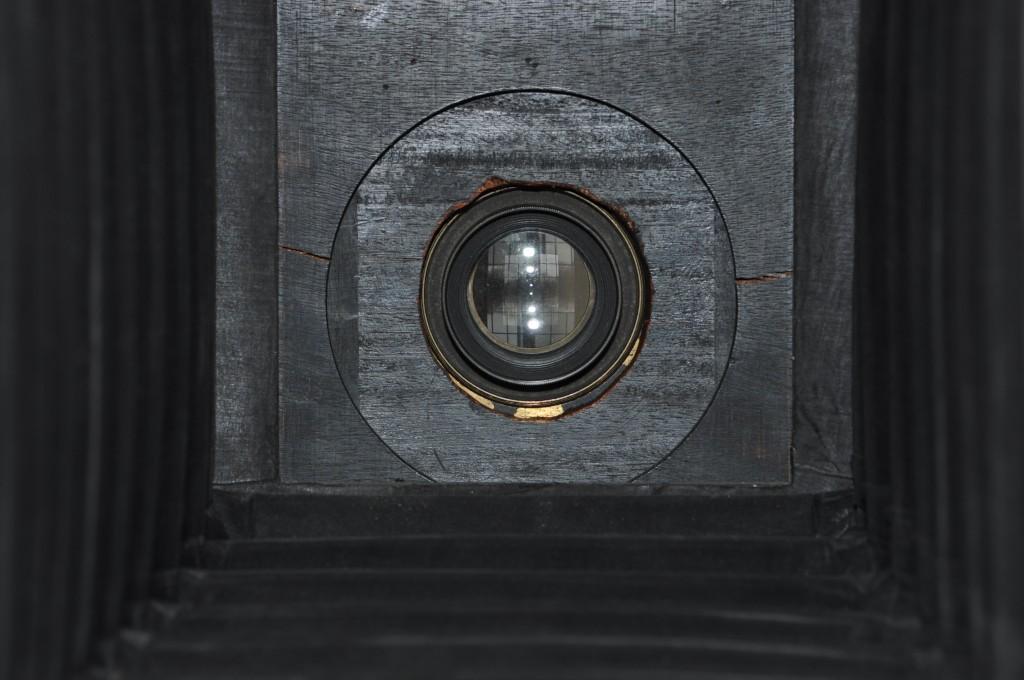 Ross Lens from inside a Billcliff Camera