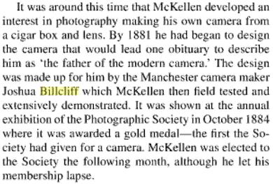 paragraph entry on S.D. McKellen